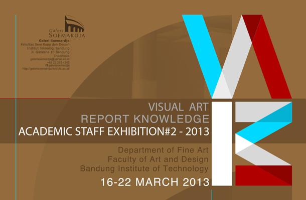 Report Knowledge #2: Academic Staff Exhibition 2013