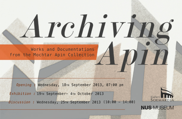 Archiving Apin