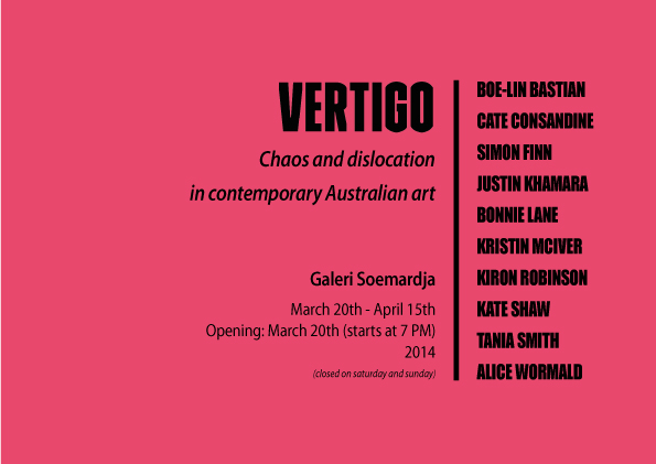 VERTIGO Chaos and Dislocation in Contemporary Australian Art
