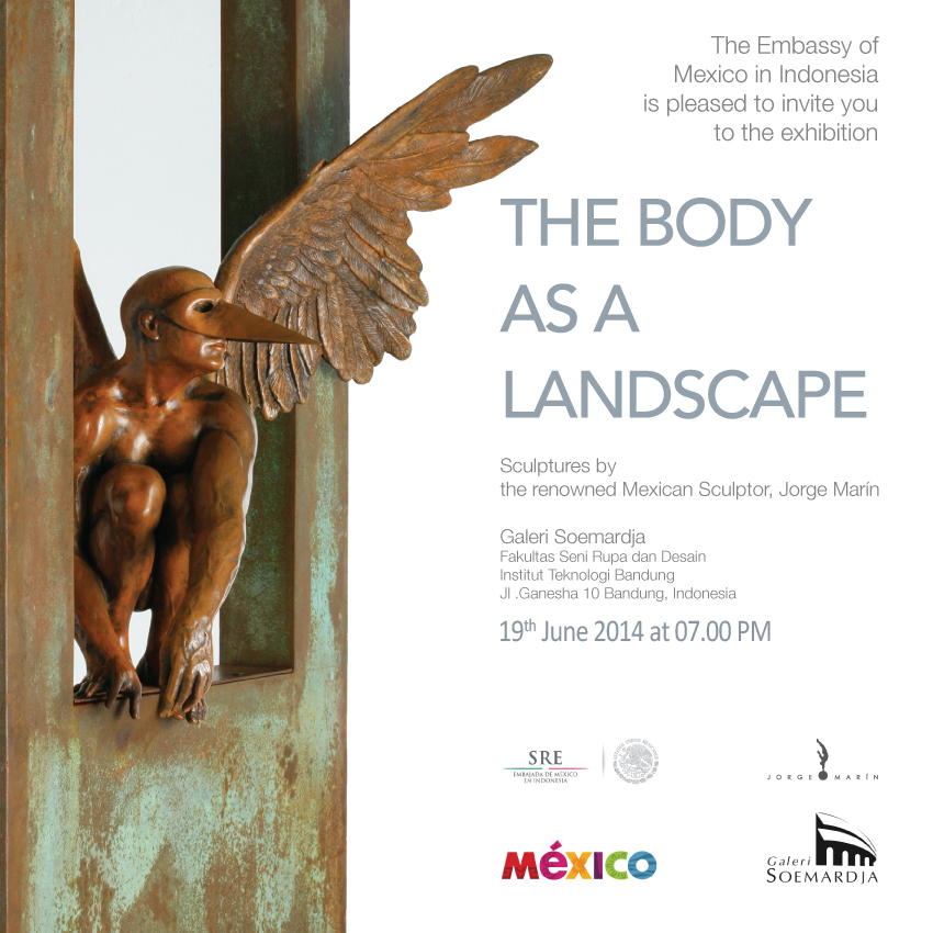 """The Body as a Landscape"", Sculptures by Jorge Marin"